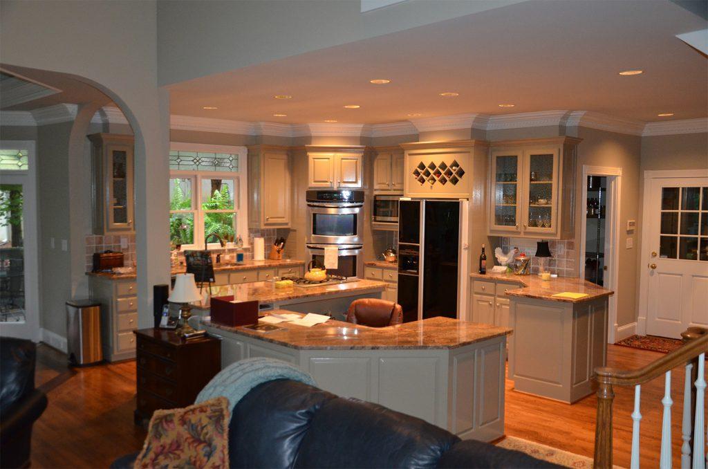 Classic Kitchen Remodeling Layout Wine Rack Fridge Cabinet