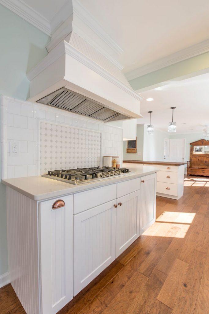 Cooktop and Backsplash for New Kitchen