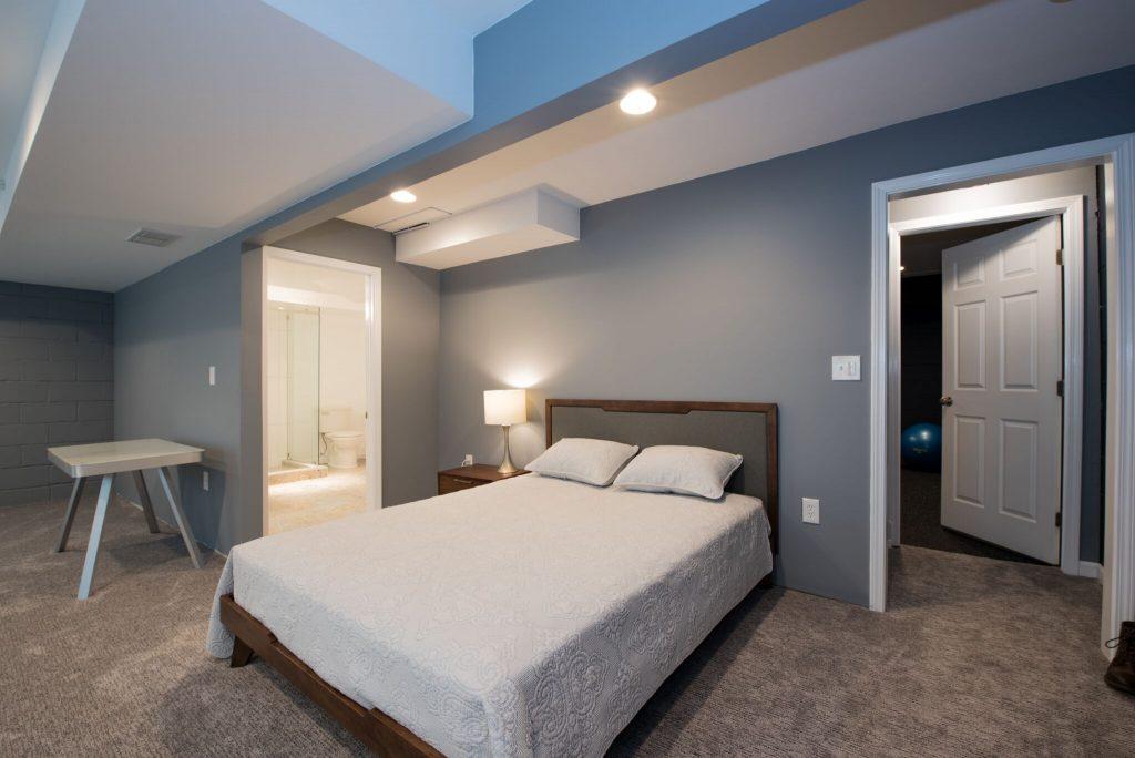Dunwoody Basement Remodel with sleeping area